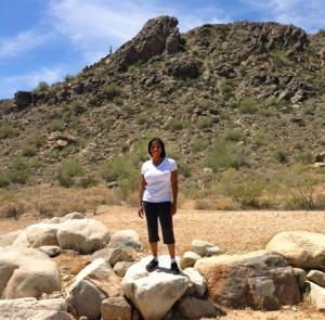 Hiking In Arizona Cropped